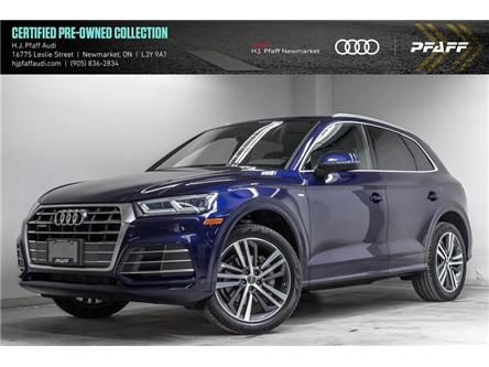 2018 Audi Q5 2.0T Progressiv (Stk: 53677) in Newmarket - Image 1 of 22