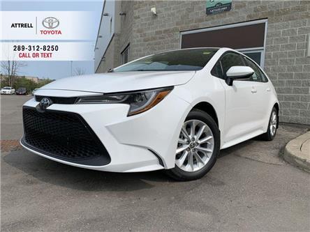 2021 Toyota Corolla LE UPGRADE PACKAGE (Stk: 48037) in Brampton - Image 1 of 24
