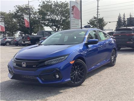 2020 Honda Civic Si Base (Stk: 20991) in Barrie - Image 1 of 25