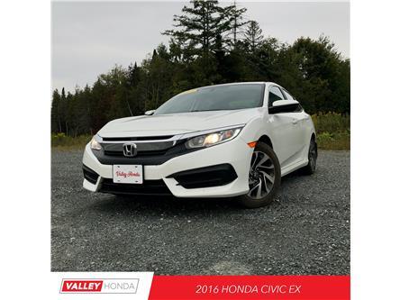 2016 Honda Civic EX (Stk: U5682A) in Woodstock - Image 1 of 8