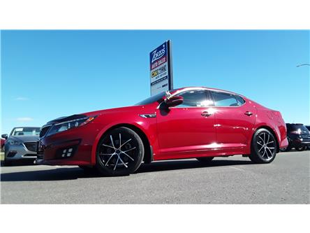 2015 Kia Optima SX Turbo (Stk: C009) in Brandon - Image 1 of 28