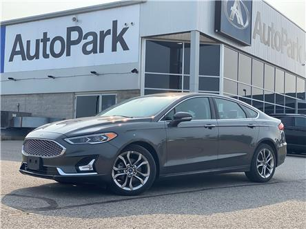 2020 Ford Fusion Hybrid Titanium (Stk: 20-29851RJB) in Barrie - Image 1 of 28
