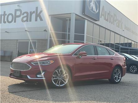 2020 Ford Fusion Hybrid Titanium (Stk: 20-32664RJB) in Barrie - Image 1 of 31