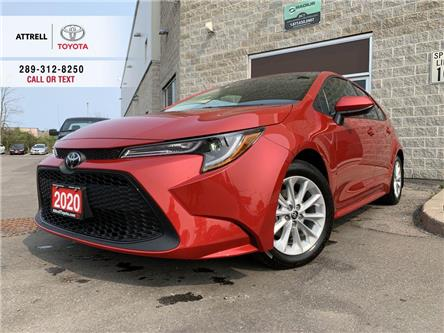 2020 Toyota Corolla LE UPGRADE APPLE CAR PLAY, ALLOY, HEATED STEERING, (Stk: 9156) in Brampton - Image 1 of 22