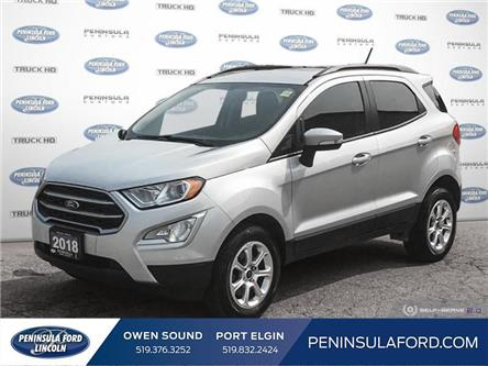 2018 Ford EcoSport SE (Stk: 2100) in Owen Sound - Image 1 of 25