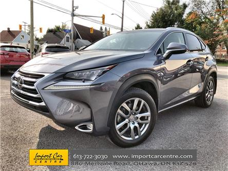 2016 Lexus NX 200t Base (Stk: 076318) in Ottawa - Image 1 of 26