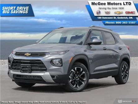 2021 Chevrolet TrailBlazer LT (Stk: 003009) in Goderich - Image 1 of 23