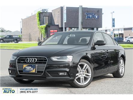 2013 Audi A4 2.0T Premium Plus (Stk: 047535) in Milton - Image 1 of 21