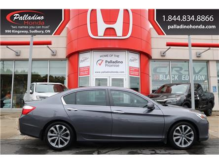 2015 Honda Accord Sport (Stk: BC0079) in Greater Sudbury - Image 1 of 31