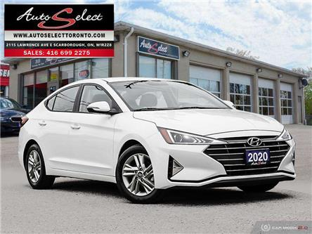 2020 Hyundai Elantra Preferred w/Sun & Safety Package (Stk: TH21EL3) in Scarborough - Image 1 of 29