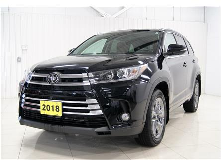 2018 Toyota Highlander Limited (Stk: P5990) in Sault Ste. Marie - Image 1 of 20