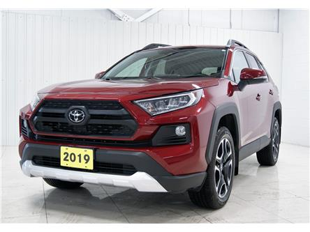 2019 Toyota RAV4 Trail (Stk: T20300A) in Sault Ste. Marie - Image 1 of 19