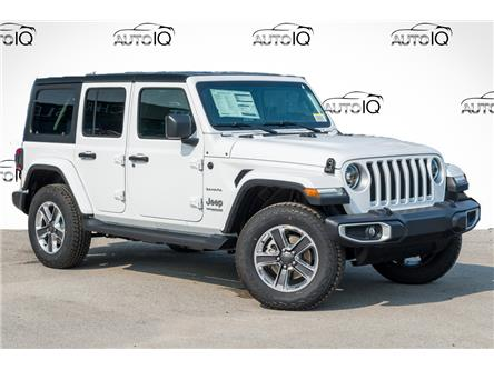 2021 Jeep Wrangler Unlimited Sahara (Stk: 34407) in Barrie - Image 1 of 27