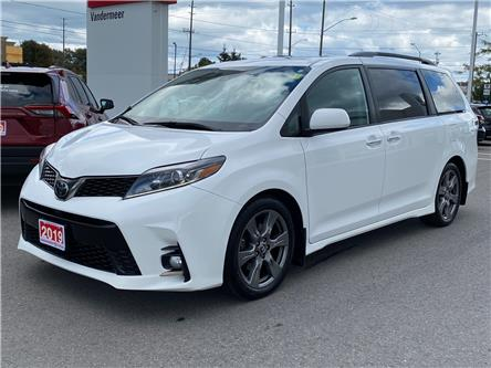 2019 Toyota Sienna SE 8-Passenger (Stk: W5130A) in Cobourg - Image 1 of 28