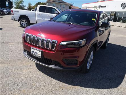 2021 Jeep Cherokee Sport (Stk: 21-006) in Ingersoll - Image 1 of 20
