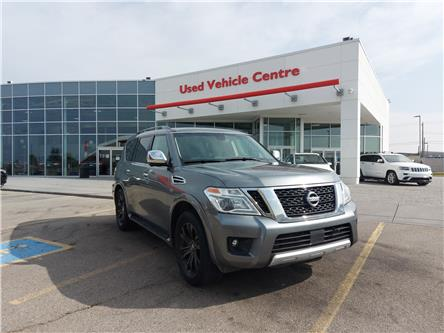 2017 Nissan Armada Platinum (Stk: 2200774A) in Calgary - Image 1 of 30