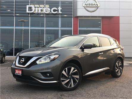 2016 Nissan Murano PLATINUM|CERTIFIED PRE-OWNED (Stk: P0670) in Mississauga - Image 1 of 22