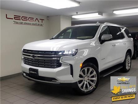 2021 Chevrolet Tahoe Premier (Stk: 217513) in Burlington - Image 1 of 25