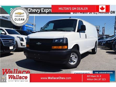 2018 Chevrolet Express 2500 2500   EXTENDED   4.3 V6   REAR CAM   P/WINDOWS (Stk: PR5034) in Milton - Image 1 of 20