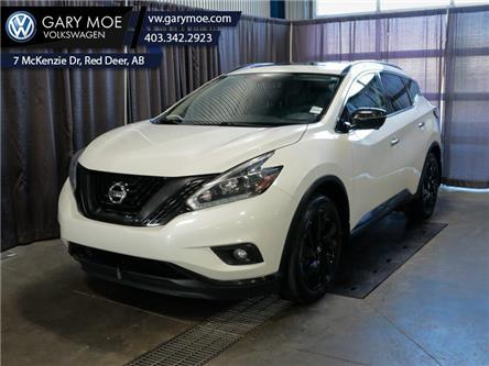 2018 Nissan Murano Midnight Edition (Stk: 9AT6606A) in Red Deer County - Image 1 of 25