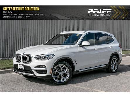 2020 BMW X3 xDrive30i (Stk: U6164) in Mississauga - Image 1 of 22