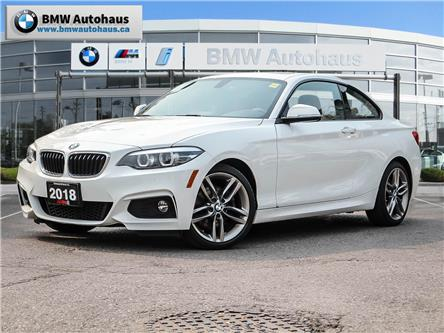 2018 BMW 230i xDrive (Stk: P9738) in Thornhill - Image 1 of 26