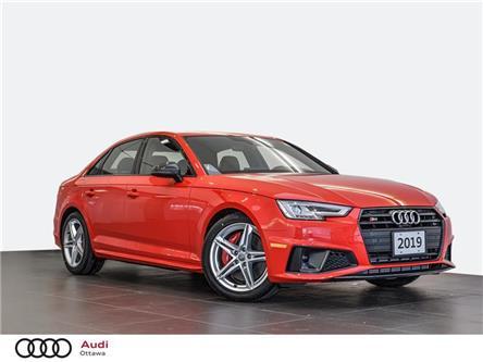 2019 Audi S4 3.0T Progressiv (Stk: 52478) in Ottawa - Image 1 of 21