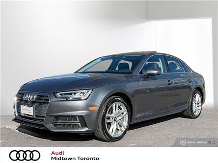 2018 Audi A4 2.0T Technik (Stk: P8242) in Toronto - Image 1 of 25