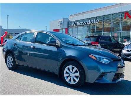 2016 Toyota Corolla LE (Stk: C35637) in Thornhill - Image 1 of 17
