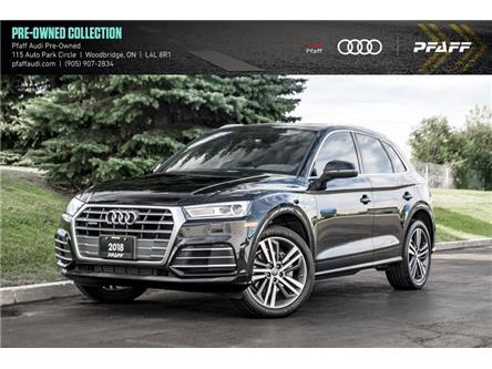2018 Audi Q5 2.0T Progressiv (Stk: C7803) in Vaughan - Image 1 of 22