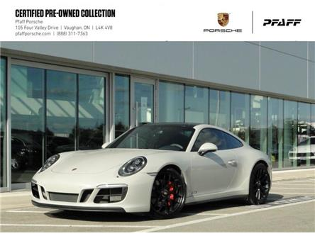 2018 Porsche 911 Carrera 4 GTS Coupe (Stk: P15938A) in Vaughan - Image 1 of 22