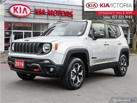 2019 Jeep Renegade Trailhawk (Stk: A1645A) in Victoria - Image 1 of 26