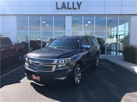 2017 Chevrolet Tahoe Leather, Roof, Nav, Heated, DVD (Stk: 00192A) in Tilbury - Image 1 of 28