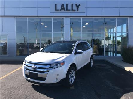 2013 Ford Edge Panoramic Roof, Leather, Rev Cam,  Weather tech (Stk: 00203A) in Tilbury - Image 1 of 24