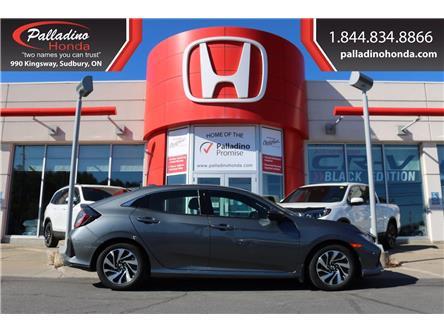 2018 Honda Civic LX (Stk: U9711) in Greater Sudbury - Image 1 of 21