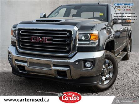 2018 GMC Sierra 3500HD SLT (Stk: 75393L) in Calgary - Image 1 of 27