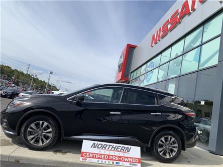 2018 Nissan Murano SL (Stk: ) in Sudbury - Image 1 of 14