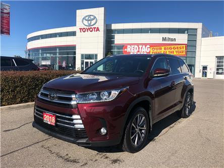 2018 Toyota Highlander XLE (Stk: 872291A) in Milton - Image 1 of 15
