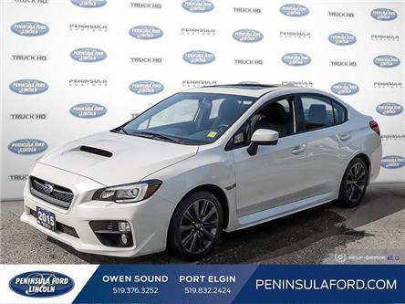 2015 Subaru WRX Sport-tech Package (Stk: 20FE231A) in Owen Sound - Image 1 of 24