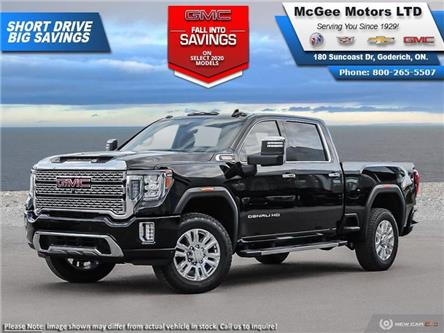 2020 GMC Sierra 2500HD Denali (Stk: 329196) in Goderich - Image 1 of 23