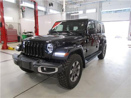 2018 Jeep Wrangler Unlimited Sahara (Stk: 7926) in Moose Jaw - Image 1 of 26