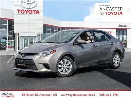 2014 Toyota Corolla  (Stk: 20671A) in Ancaster - Image 1 of 21