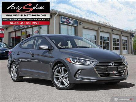 2018 Hyundai Elantra GLS (Stk: 1HT17G1) in Scarborough - Image 1 of 28