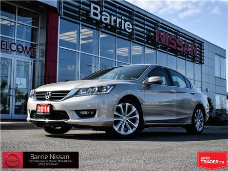 2014 Honda Accord Touring V6 (Stk: 20423A) in Barrie - Image 1 of 30