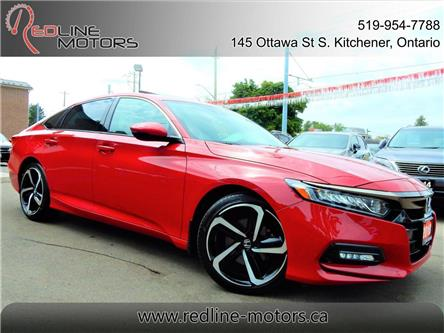 2018 Honda Accord Sport 2.0T (Stk: 1HGCV2) in Kitchener - Image 1 of 29