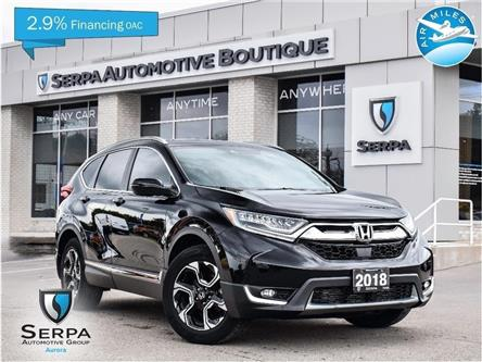 2018 Honda CR-V Touring (Stk: P1427A) in Aurora - Image 1 of 30