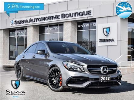2017 Mercedes-Benz AMG CLA 45 Base (Stk: P1156A) in Aurora - Image 1 of 27