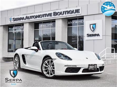 2017 Porsche 718 Boxster Base (Stk: CP017) in Aurora - Image 1 of 27