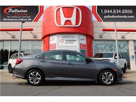 2018 Honda Civic LX (Stk: U9736) in Sudbury - Image 1 of 23
