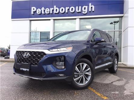 2020 Hyundai Santa Fe Preferred 2.4 w/Sun & Leather Package (Stk: H12608) in Peterborough - Image 1 of 8